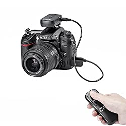 Neewer 100 M Dslr Camera Shutter Release Wireless Remote Control Transmitterreceiver For Nikon Camera