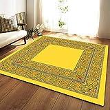 YSX-carpet Area Tappeto, Tappeto Camera da Letto Lavabile, tappezzeria Super Soft Tappeto Quadrato Soggiorno, Tappetino Yoga Tappeto Antiscivolo per Bambini,M1,5.2ftx3.9ft