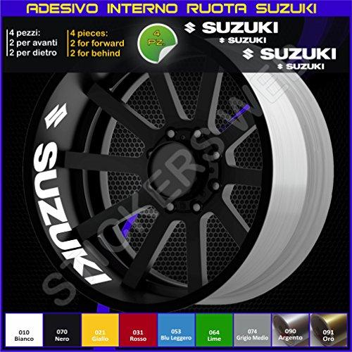 Adhesivos/pegatinas en tiras para llanta, código 0274, Suzuki Bandit GSX GSXR Vstrom