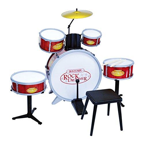 Bontempi Schlagzeug mit Hocker (6-teilig) Preisvergleich