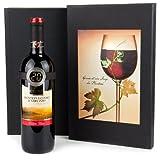 Geschenk Set Digitales Weinthermometer mit Rotwein Monepulciano d'Abruzzo