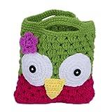 EOZY De Diseño Animal Pájaro Flor Portátil Lindo Infantil De Mano De Maquillaje Cosmético Neceser Saco Bolsa Bolso Para Niña Muchacha Femenino Vello Pelusa Lana