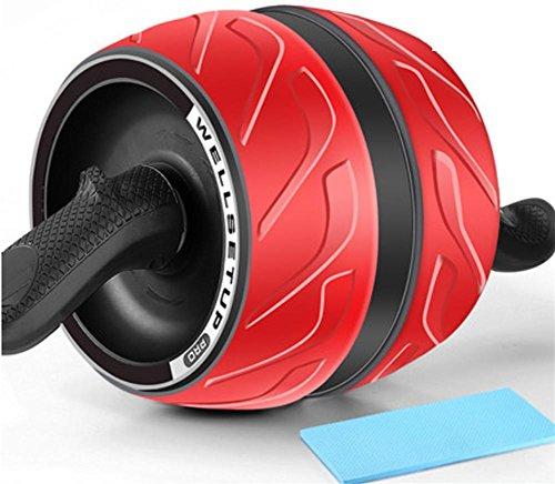 La circulación abdominal elástico ABS rueda de los hombres deportes entrenamiento gimnasio equipo hogar mujer vientre y abdomen MUTE Roller , 1
