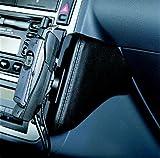 KUDA Telefonkonsole passend für: VW Sharan/Ford Galaxy ab 5/00/Seat Alh. Echtleder <royalblau> (33151)