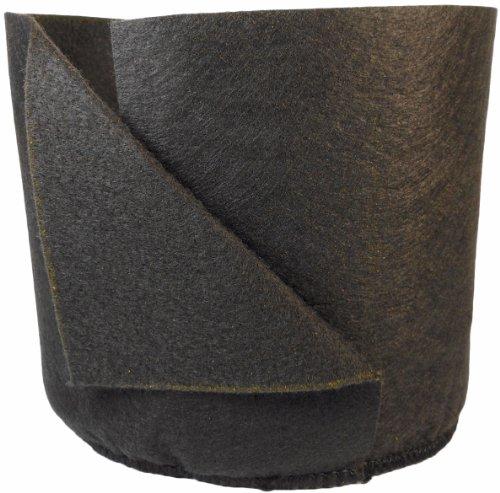 Smart Pots Soft-Sided Repiqueuse mécanique Plante à Nourriture, 1-Gallon, Noir