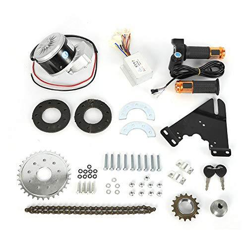 SHIOUCY 250W 24V Elektro Ebike Conversion Twist Kit Elektrofahrrad Umbausatz für Fahrrad (Umbausatz Elektro-fahrrad)