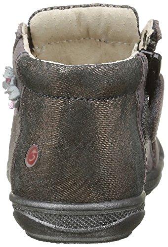 GBB Noelle, Chaussures Lacées Fille Rose (17 Vte Bois De Rose Dpf/2813)