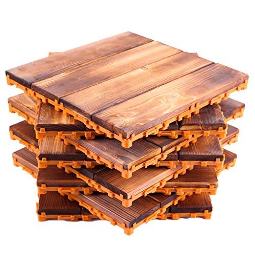 Klick-Holzfliese Set für