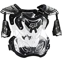 Fox Racing R3 Roost Deflector Black (Large 06091-001-L) by Fox Racing