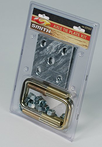 C.E. Smith C. E. Smith Axle Tie Plate Kit f/2' Square Axle