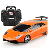 Amazemarket Random Color Baby Boys Girls Kids Funny 4 Channels RC Car Model Toy 1:24 Scale Headlight Radio Remote Control Cool Gift Collection Hobby Room Decoration (random color) - Compare prices on radiocontrollers.eu