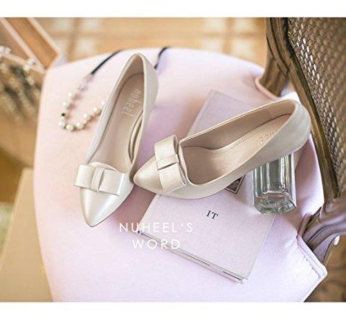 Chaussures d'été/Lumière chaussures/Version coréenne de la proue stiletto a fait chaussures D