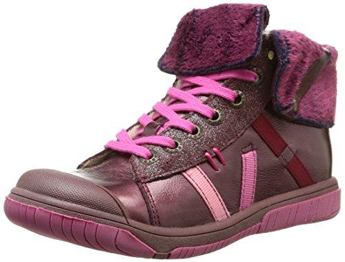 BabybotteArtichaufl - Pantofole a Stivaletto Bambina , Rosa (Rose (425 Rose Foncé)), 22