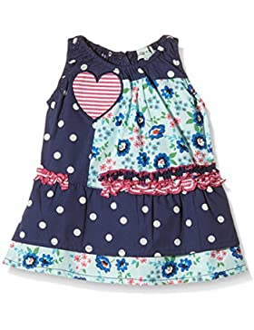 Lilly and Sid Baby - Mädchen Kleid Fabric Mix Woven Dress