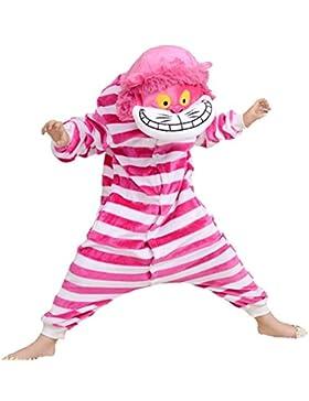 Pijamas de animales unisex para niños, disfraces de fiesta de Halloween de Navidad, pijamas de Onesie de animales...