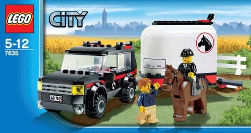 Imagen 2 de LEGO City 7635 - Transporte de caballos [versión en inglés]