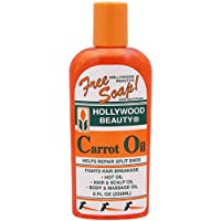Hollywood Beauty Olio di Carota Repair Split Ends liquido flacone da 236ml