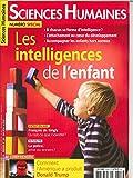 Sciences Humaines N 303 les Intelligences de l'Enfant - Mai 2018