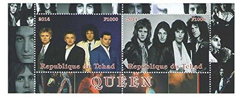 Rock Musik Banküber Königin Satz von zwei