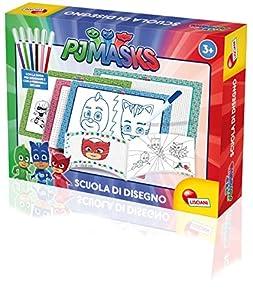 Lisciani Giochi 62980-PJ Masks Escuela de Dibujo