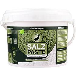 EUROHUNT Salzpaste Apfel 2 kg Eimer - Reclamo y atrayentes para caza