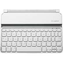 Logitech 920-005115 - Teclado para Apple iPad Mini, blanco - QWERTY Español