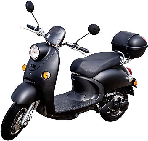 "Elektroroller""ONE"", 2000 Watt, 60 km, Lithium-Akku E-Scooter E Roller mit Straßenzulassung Elektro, inkl. Topcase"