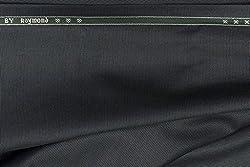 Raymond Trouser Fabric 1Pc 1.3Meter Trouser Length for Men's Solid Blue::Grey