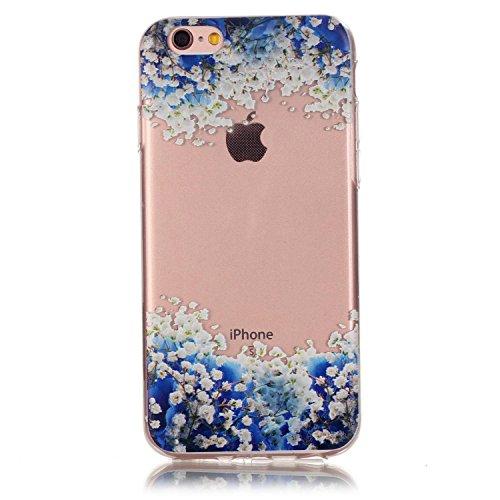 Custodia trasparente per iPhone 5/5S, custodia in gomma trasparente per iPhone SE, marca Toyym, con motivo animale o fiore colorato, per ragazza. Design sottile, realizzato in eco-silicone TPU morbido Colour-8