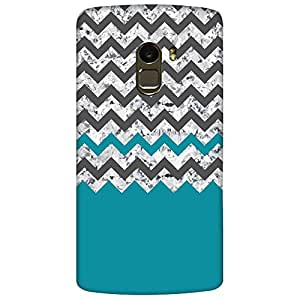 Bhishoom Designer Printed Back Case Cover for Lenovo Vibe K4 Note, Lenovo K4 Note A7010a48, Lenovo Vibe K4 Note A7010 (Zig Zag Stripes Texture Pattern )