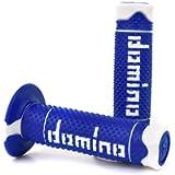 Domino 1295376 Manopole, Blu/Bianco, Set di 2