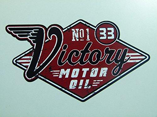 MG046 / Vintage Öl Aufkleber ca. 13x7cm Oil Oldtimer Old School V8 USA Retro Sticker Rost Look Rat Rod Hotrod