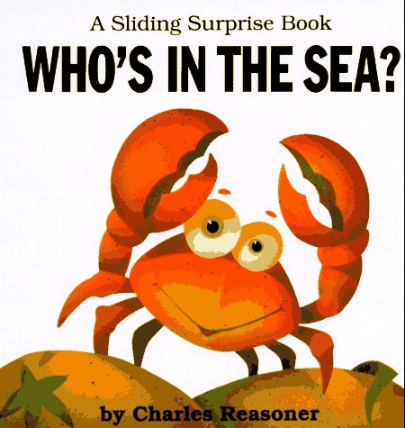 Who's in the Sea? (Sliding Surprise Book Series)