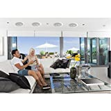 Pyle PDIC80 300W 8 inch Two Way In Ceiling Speaker System