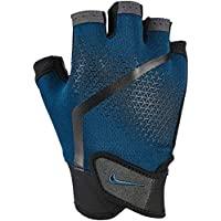 Nike Men' Selevated Fitness Gloves Performnace Gloves - Blue Force/Black, One Size
