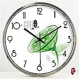 adfb7d65f509 Beakjiful Chino Creativo Lotus Reloj de Cuarzo Hotel Sala de Estar  Decoración Mute Reloj de Pared