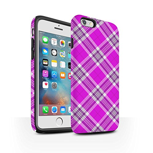 stuff4-matte-antiurto-custodia-cover-caso-cassa-del-telefono-per-apple-iphone-6s-plus-rosa-tartan-pi