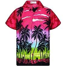 7d78262fd Amazon.es  camisa hawaiana hombre - Rosa