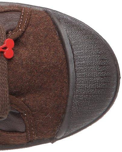 Le Temps des Cerises Basic 03 Mono Leather, Damen Sneaker Braun
