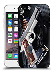 Snoogg Abstract Gun Designer Protective Back Case Cover For IPHONE 7