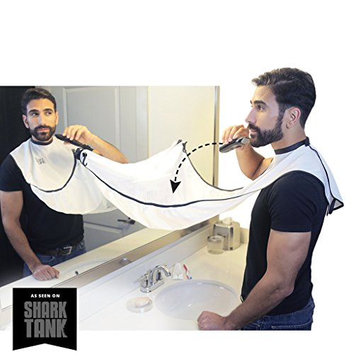 BEARD TRIMMING CATCHER for Quick Disposal of Facial Hair Mess...