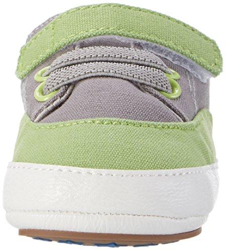 Sterntaler - Baby-schuh, Scarpine e pantofole primi passi Bimbo 0-24 Grün (Sommergrün)