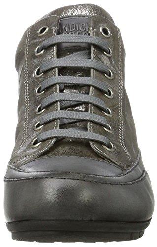 Candice Cooper Ladies Metal Parker Alta Sneaker Grigio (cdf)
