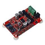 Hiletgo 50W + 50W TDA7492P 2x 50Watt Dual Channel amplificatore digitale wireless Bluetooth 4.0ricevitore audio amplificatore Board (Red)