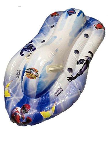 Moto de agua hinchable Power Rangers 120x 74cm playa piscina * 07650