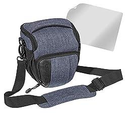 Kameratasche für Panasonic Lumix DC-LX100 II Foto Gürtel Umhänge Tasche Mater