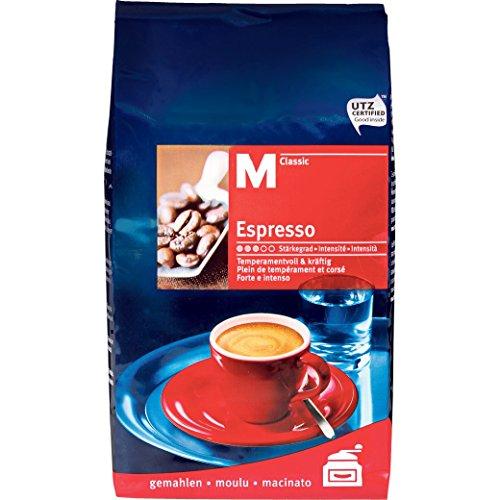 Kaffee Espresso 'M-Classic gemahlen'
