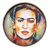 Aprettysunny insigne l'insigne des broches de broche de frida kahlo metal femmes épinglette créatif