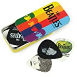 Planet Waves Beatles Stripes Picks Medium Gauge in Collectable Tin - 15 Picks