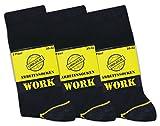 9 Paar Arbeits-Socken, Baumwolle, Oeko-Tex, Robust, Langlebig | Größe 43-46